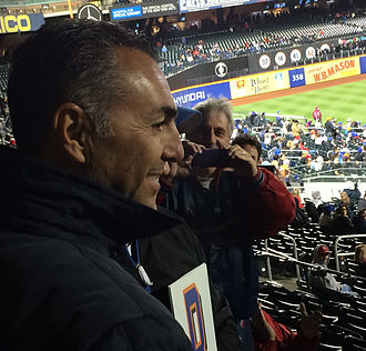 John Franco - John Franco at Citi Field in 2014.