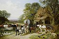 John Frederick Herring jr Halt outside the Bull's Head.jpg