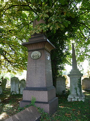 John Macdonald (British Army officer) - Monument, Kensal Green Cemetery