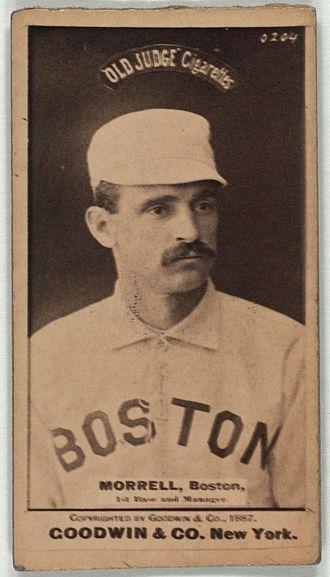 John Morrill - Image: John Morrill baseball card