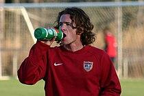 John O'Brien has a drink (2006).jpg