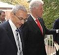 John Podesta and Bill Clinton in 2006 (01).jpg