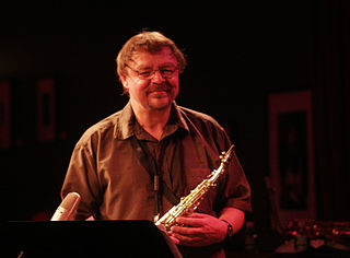 John Surman British saxophonist and clarinetist