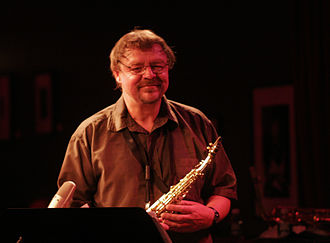 2009 in jazz - John Surman at Birdland 2009.