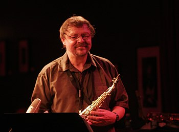 John Surman-- Birdland; September 2, 2009 Phot...