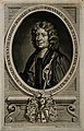 John Wallis. Line engraving by M. Burghers, 1699, after W. S Wellcome V0006134.jpg