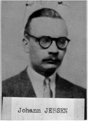 Johnny Jebsen - Jebsen, from his MI5 file