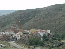 Skyline of Josa, Spain