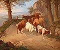 Josef Feid - Bringing the Herd down from the Alpine Pastures.jpg
