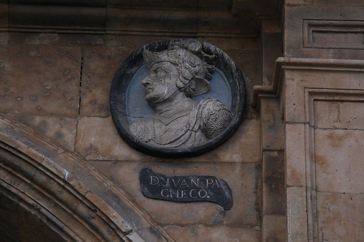 Juan Pacheco-Plaza Mayor de Salamanca.JPG