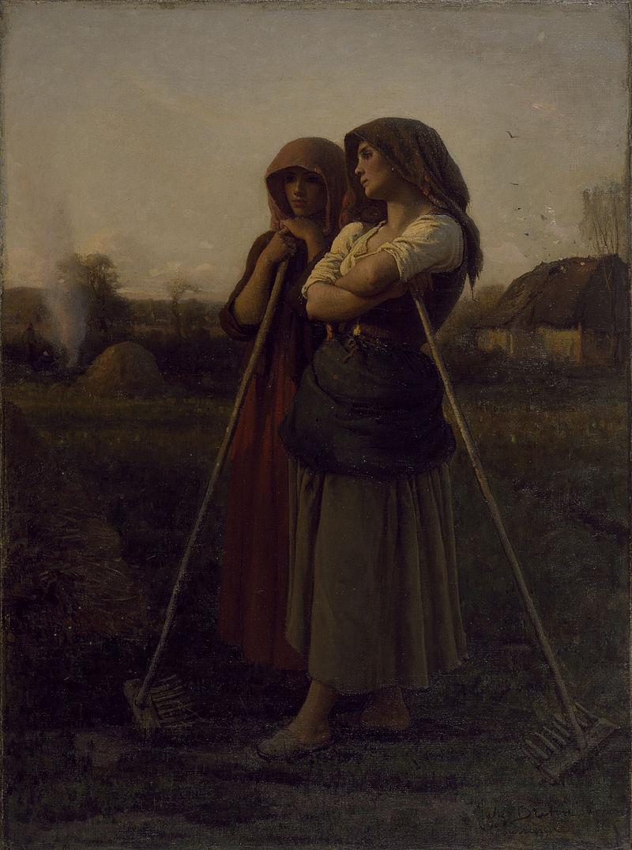 Jules Adolphe Aimé Louis Breton - The Close of Day - Walters 3757 (2).jpg