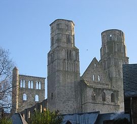 Ruins of the abbey of Jumièges