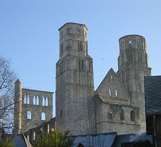 Jumièges - Ruins of the abbey of Jumièges