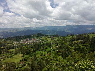 Junín, Cundinamarca Municipality and town in Cundinamarca, Colombia