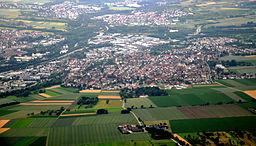 Köngen, Luftbild