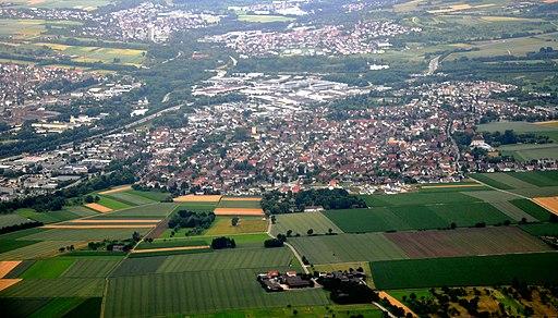 Köngen Luftbild 2011