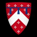 """K-088-Coat of Arms-BERKELEY-Maurice de Berkeley (""""Morices de Berkelee"""").png"""
