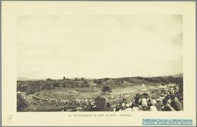 KITLV - 37385 - Demmeni, J. - The races at Fort de Kock (Bukittinggi) - 1911.tif