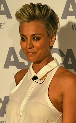 Kaley Cuoco ASPCA awards - Oct 2014 (cropped).jpg