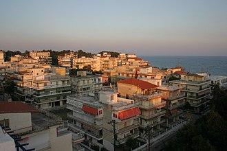 Kallikrateia - View of Nea Kallikrateia
