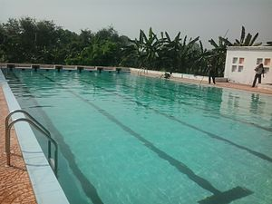 Kalyani Stadium - Stadium swimming pool