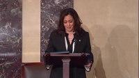 File:Kamala Harris criticizes nomination of Justice Gorsuch.webm