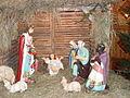 Kamienna Góra, kościół pw. Najświętszego Serca Pana Jezusa, szopka bożonarodzeniowa.JPG