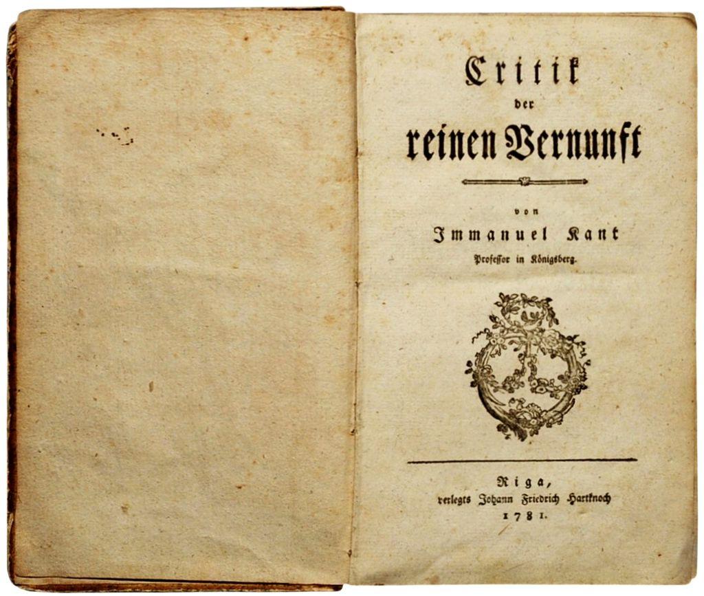 Kant Kritik der reinen Venunft 1781.jpg