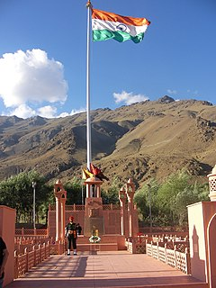 Kargil War Memorial, Operation Vijay.jpg