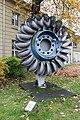 Karlsruhe, Laufrad einer Pelton-Turbine -- 2013 -- 5252.jpg