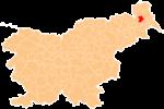 La loko de la Municipo de Murska Sobota