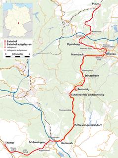 Plaue–Themar railway