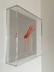 Kartell Tic Tac® Wall Clock By Philippe Starck