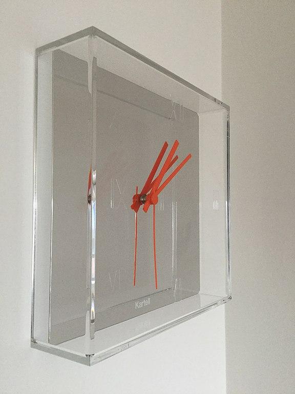 File:Kartell Tic Tac® Wall Clock by Philippe Starck.JPG ...