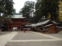 View of Kashima Shrine