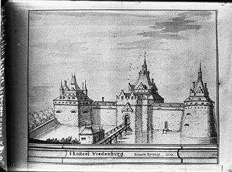 Vredenburg Castle - Image: Kasteel Vredenburg 1570 Utrecht 20237276 RCE