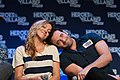 Katie Cassidy and Colin Donnell HVFF 2016 01.jpg