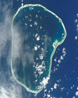 Kauehi - NASA picture of Kauehi Atoll