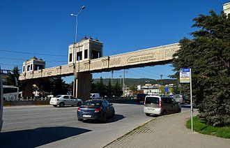 Derince - Image: Kaymakam Mahmut Kılıçdoğan Footbridge Derince