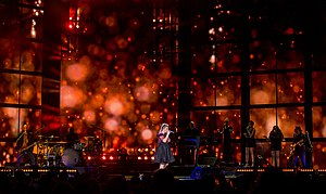 Piece by Piece Tour - Image: Kelly Clarkson Live in Austin Texas 2015 3