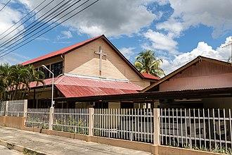 Keningau District - Image: Keningau Sabah St Margaret Anglican Church 01