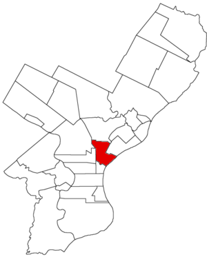 Kensington District, Pennsylvania - Image: Kensington Dist 1854