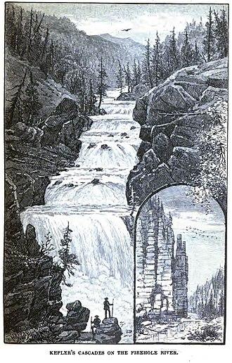 Kepler Cascades - Image: Kepler Cascades 1883