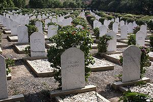 Eritrean Ascari - Graves of unknown Ascaris killed in 1941 during the Battle of Keren