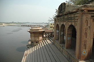 Vrindavan - Kesi Ghat on banks of the Yamuna river