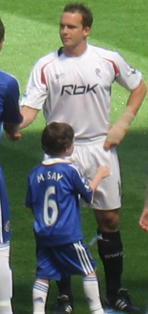 Kevin Davies - Davies lining up for Bolton Wanderers in 2008