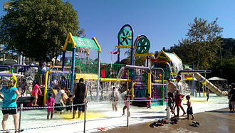 Raging Waters - A play area for young children at Raging Waters San Dimas