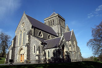 Bishop of Kilmore - The Cathedral Church of Saint Fethlimidh, Kilmore, the episcopal seat of the Church of Ireland bishops. Within the grounds lies the pre-Reformation Cathedral, now used as a parochial hall.