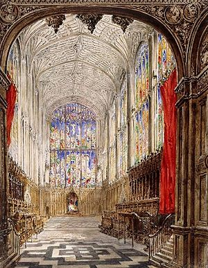 Joseph Murray Ince - Kings College Cambridge by Ince