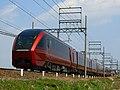 Kintetsu 80000 Series between Kasumigaura and Kintetsu-Tomida.jpg